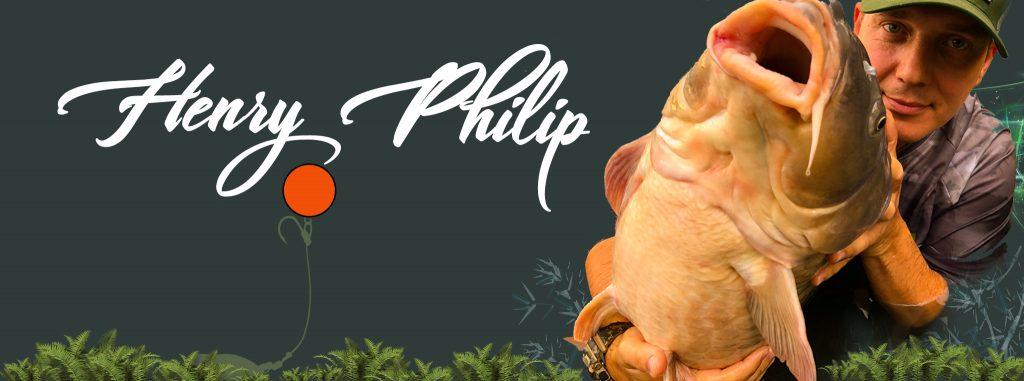 Henry Philip Carp Angler Fishing